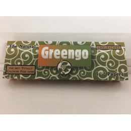 Papel fumar Greengo Natural 50u.