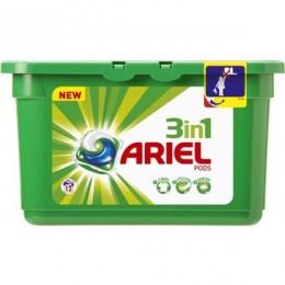 Detergente Ariel 3 en 1 pod 12 uni.