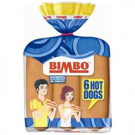 Hot Dogs Bimbo 6 uni.