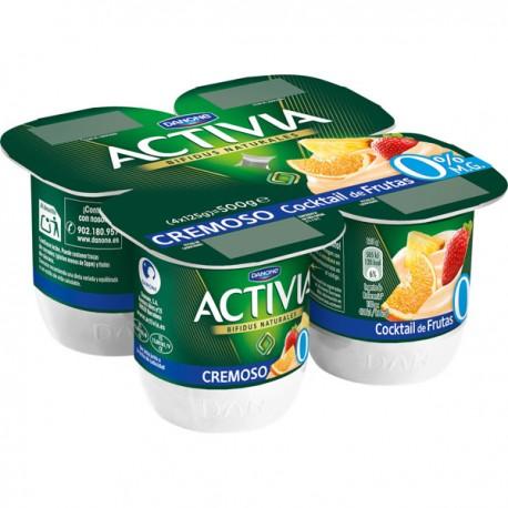 Activia 0% Crema Multifrutas