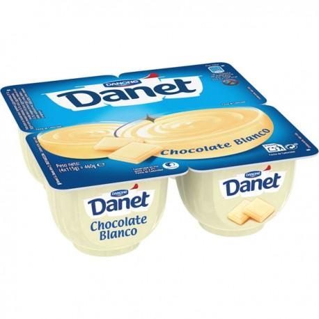 Danet Chocolate Blanco Danone