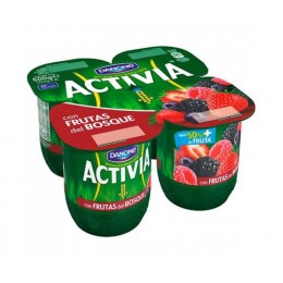Activia 0% Cremosa Frutas Silvestres