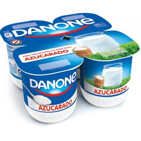 Yogurt Natural Azucarado Danone