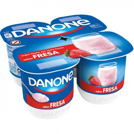 Yogurt Sabor Fresa Danone
