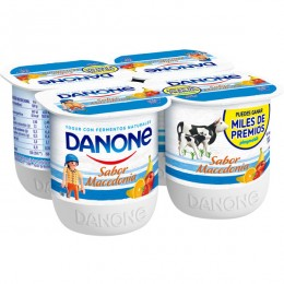 Yogurt Sabor Macedonia Danone