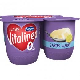 Vitalinea Limón Danone