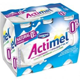 Actimel 0% Natural Danone