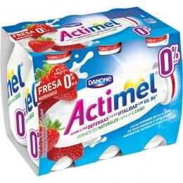 Actimel 0% fresa Danone