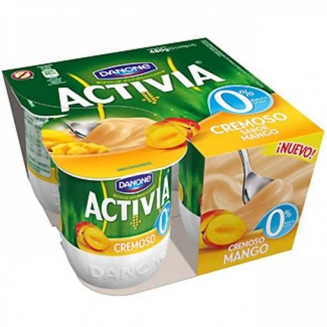 Activia 0% con mango Danone