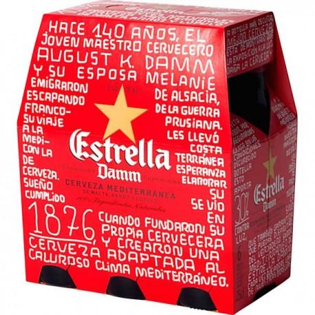 Cerveza Estrella Damm Lata 33cl