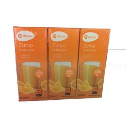 Zumo de Naranja Coaliment Pack3