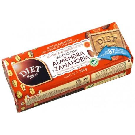 Galletas con Almendra y Zanahoria