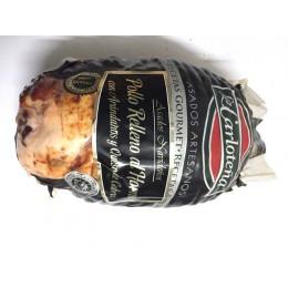 Pollo Relleno arándanos y Queso de Cabra