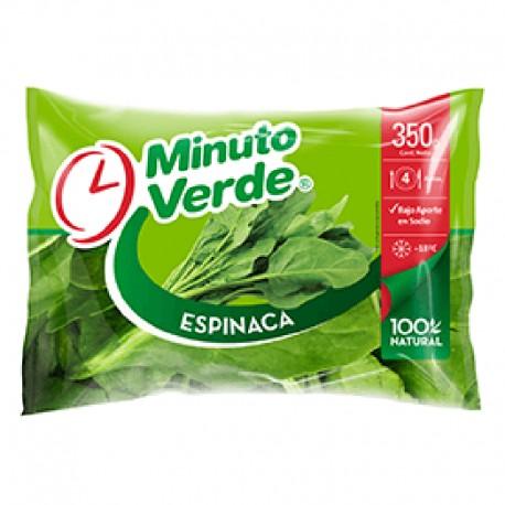 Espinacas Frescas Minuto verde