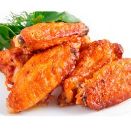 Alas de pollo adobadas
