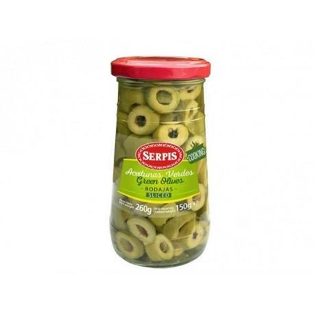 Aceitunas Verdes Serpis Rodajas