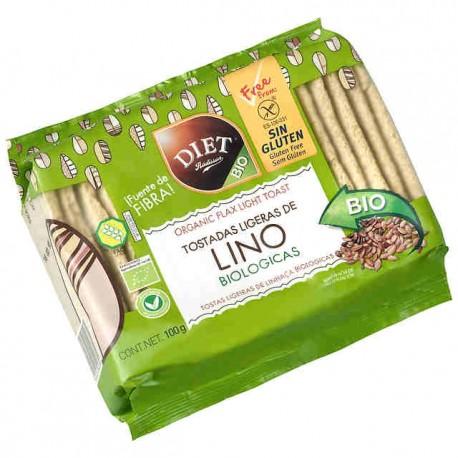 Tostadas de Lino Bio Diet