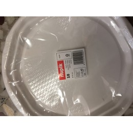 Platos Plástico 25cm Nupik