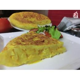 Preparado de Tortilla con Chorizo Salsas Fruits SP