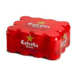 Cerveza Estrella Damm Lata Pac-12