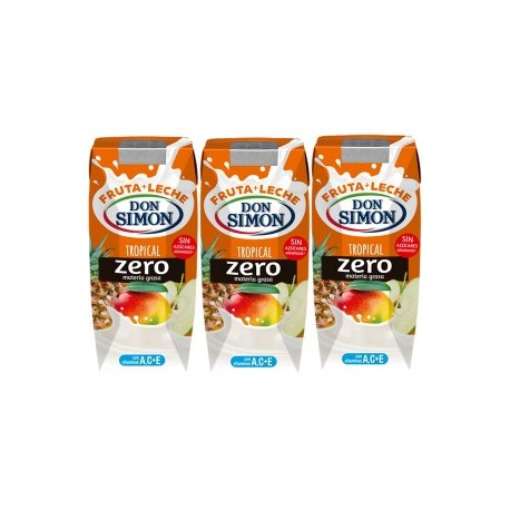 Leche Con Fruta D.Simon Tropical Pac 6 200ml