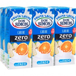 Leche con Fruta Don Simon Caribe Pac-6-200ml