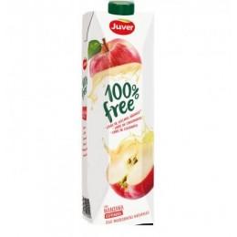 Zumo Juver 100% Free Prisma Manzana 1L.