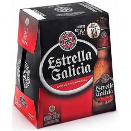 Cerveza Estrella Galicia Pack-6