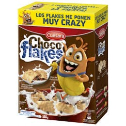 Galletas Cuetara Choco Flakes 600 g