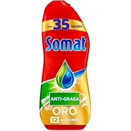 Somat Gel Oro Lavavajillas Antigrasa 630 ml.