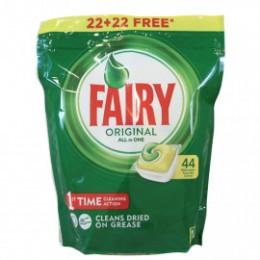 Fairy Lavavajillas Limon Todo en Uno Pastillas