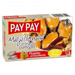 Mejillones Pay Pay Escabechi Picante