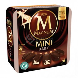 Magnum Mini Da Chocolate 6 unidades