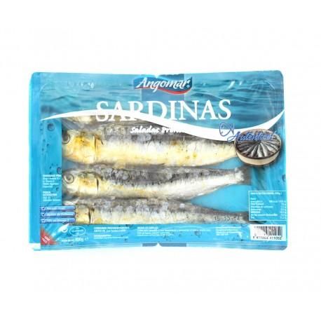 Sardinas Saladas Angomar bandeja 4u