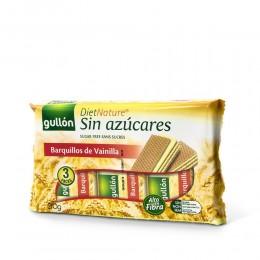 Galletas Gullón Barquillos Vainilla Diet Natur 210 gr.
