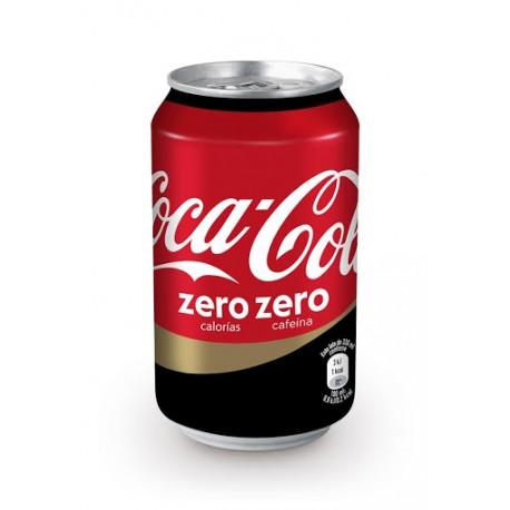 Coca Cola Zero Zero Lata 33 cl.