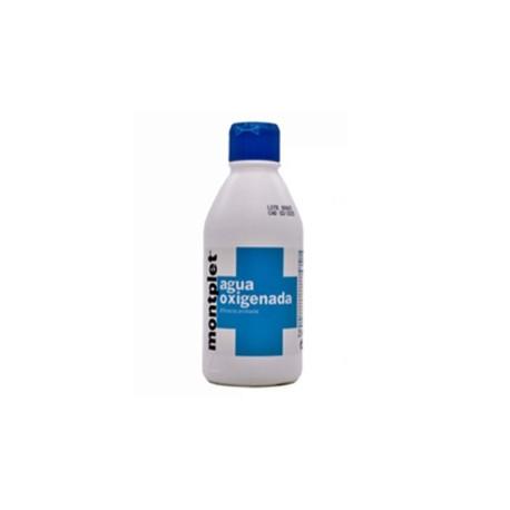 Agua Oxigenada Montplet 250 ml.