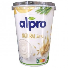 Yogur Soja Alpro Avena 500 gr.