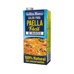 Caldo Gallina Blanca Paella Marisco 1 Litro