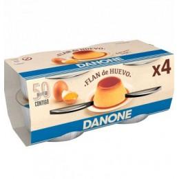 Danone Flan De Huevo 4 un.