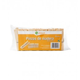 Pinzas de Madera Coaliment 24 un.
