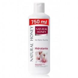 Gel Natural Honey Hidratante 750 ml.