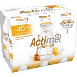 Actimel Menos Azucar Con Miel Pack 6 u.