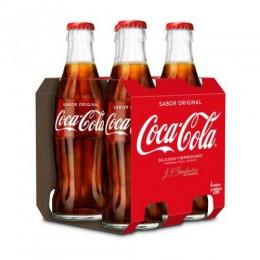 Coca Cola 20cl Botella Vidrio Pack 4