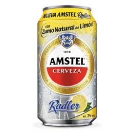 Cerveza con Limon Amstel Radler 33 cl.