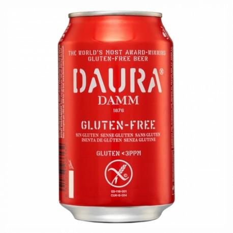 Cerveza Daura Damm sin Gluten 33 cl.