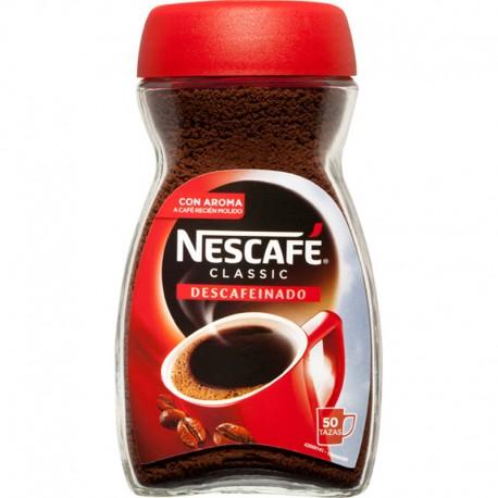 Café Soluble Nescafe Descafeinado 100grs