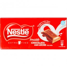 Chocolate Nestlé con leche Extrafino