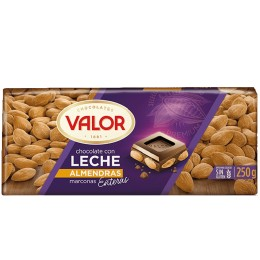 Valor Chocolate con leche Almendras