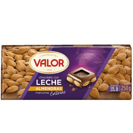 Valor Chocolate con leche Almendras
